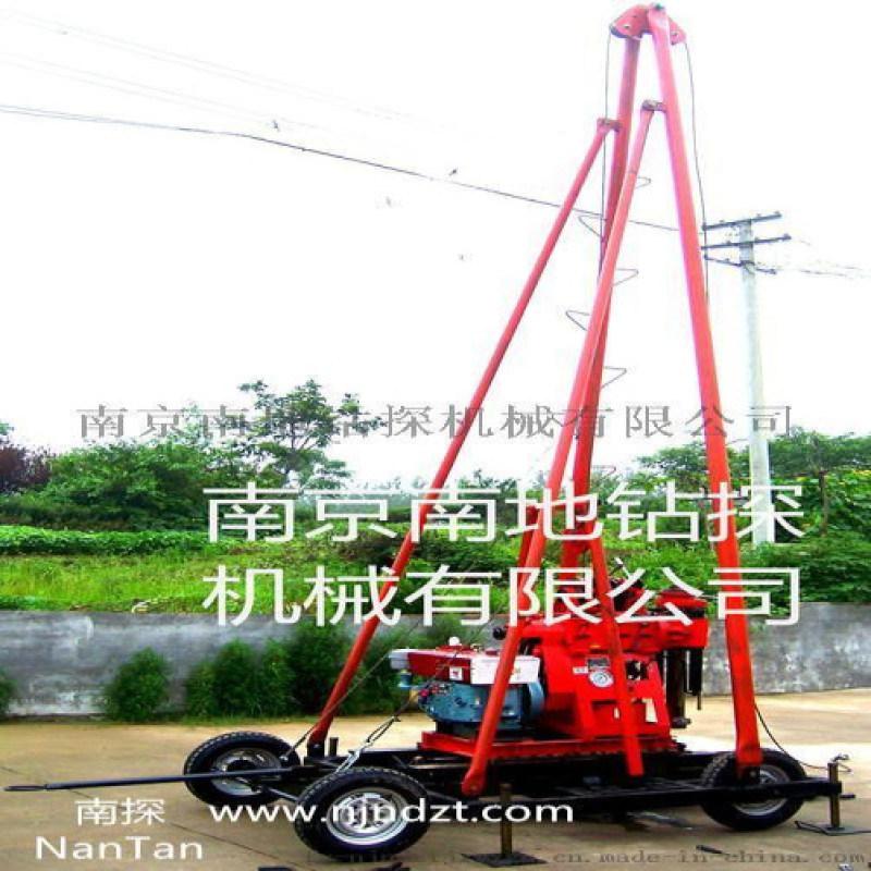 塔机一体勘探钻机,1-200米勘探钻机