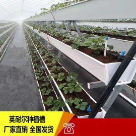 PVC草莓种植槽 无土栽培槽 立体种植槽厂家