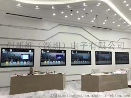 江苏65寸单机网络壁挂落地式液晶广告机公司