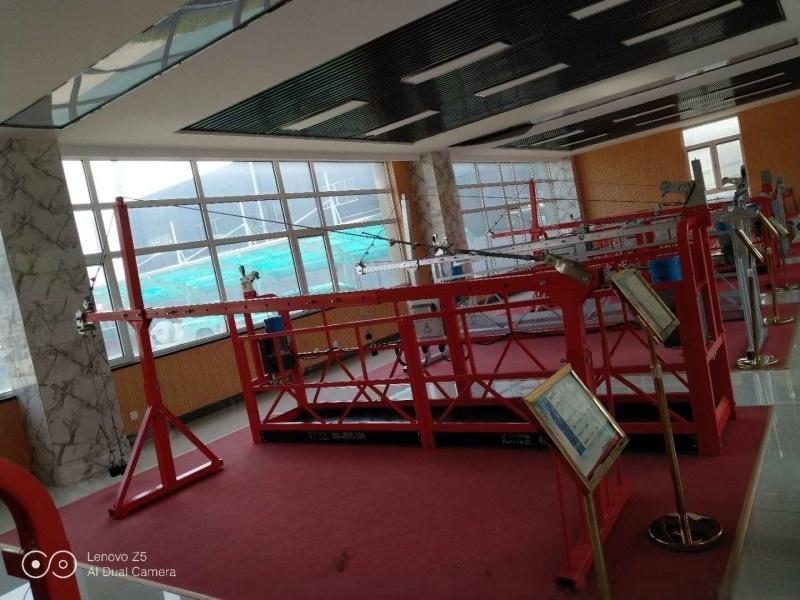 湖北长沙建筑学校教学设备吊篮电动吊篮山东汇洋厂家