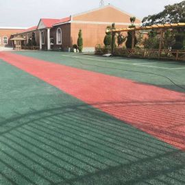 彩色透水地坪胶粘剂,上海誉臻地坪材料科技公司