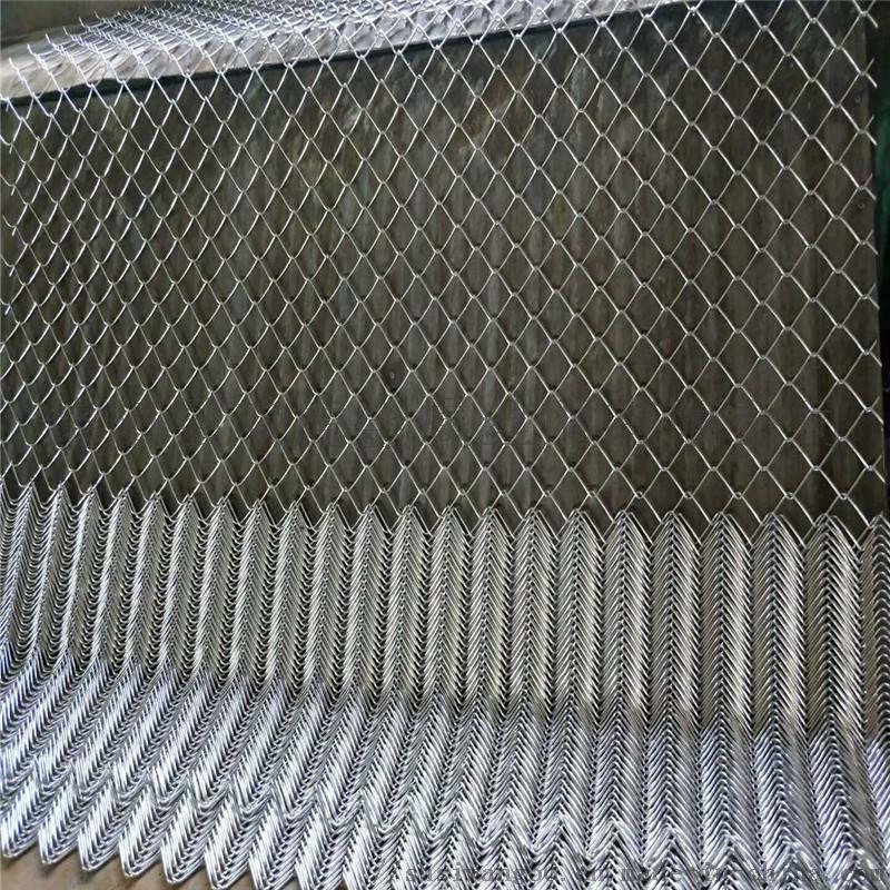 四川14#镀锌铁丝网找双虎勾花网厂边坡复绿金属网
