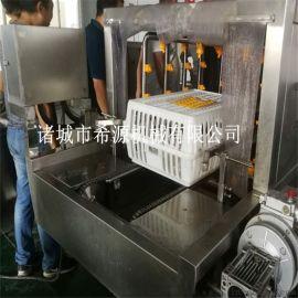 滚筒过滤式鸡笼清洗机 养殖场  鸡笼清洗消毒设备
