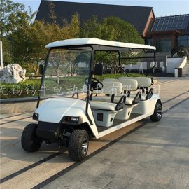 供应南京6座电动高尔夫球车,校园代步游览车