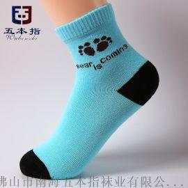 五本指襪子廠家批發銷售價直批品牌兒童襪子  代工童襪