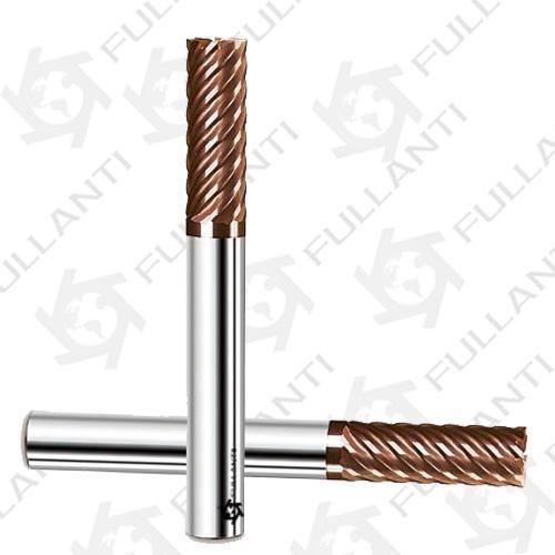 鎢鋼銑刀鎢鋼銑刀生產廠家富蘭地高硬度塗層立銑刀鎢鋼銑刀