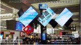 戶外大屏LED廣告屏/磐景智造魔方柱/旋轉屏/上海虹橋火車站