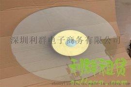 深圳1米圆桌转盘餐桌玻璃转盘宴会桌酒店桌钢化玻璃圆转盘出租赁