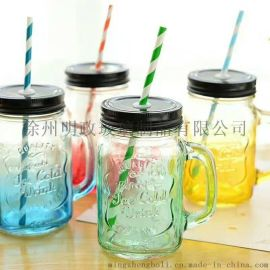 公鸡杯/玻璃饮料杯/玻璃奶茶杯/果汁杯//彩色把子杯