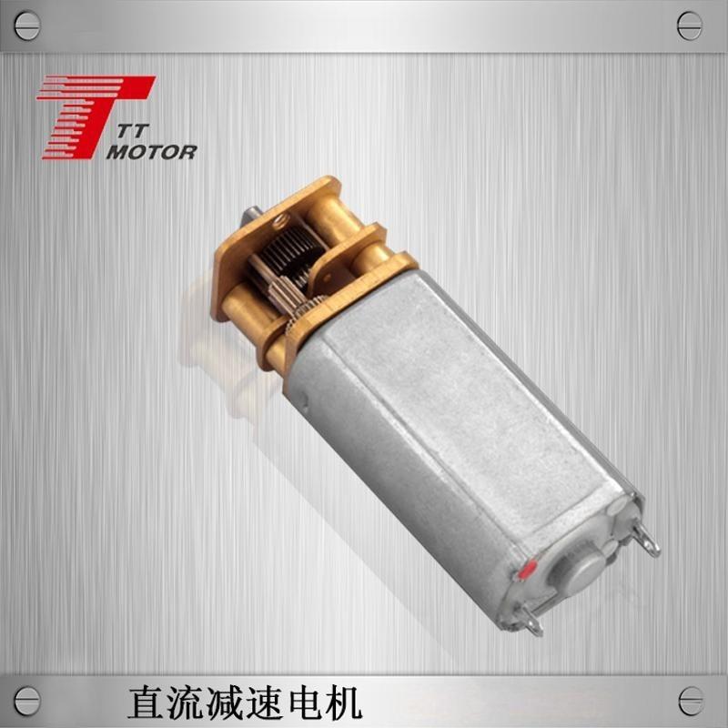 带螺杆输出减速马达 M4螺纹5V直流减速马达
