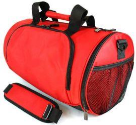 方振箱包工廠供應定制 健身包 男女單肩斜挎包桶包 可添加logo