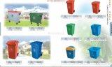 带盖塑料筐模具带盖垃圾桶模具