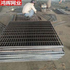 钢格栅盖板、安平河北鸿晖303/30/100