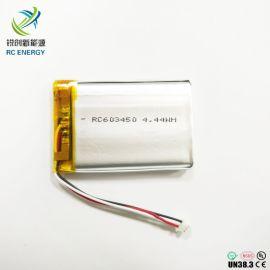 高品质聚合物 电池603450 1200mAh 3.7V 离子电池