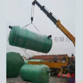玻璃鋼化糞池重量輕-模壓玻璃鋼化糞池廠家-河北霈凱