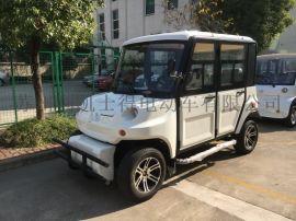 無錫廠家直銷四輪巡邏電瓶車,5座學校保安巡邏電動車