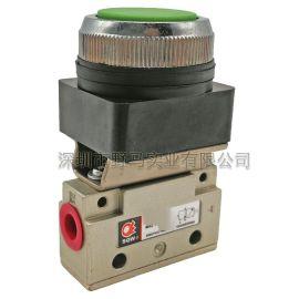 全偉按鈕閥 QVM131 自動化設備用機械閥