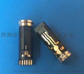 苹果7音频H3.5mm耳机插座iPhone7通话母座6P带独立侦测P焊线式