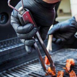 厂家直销 得心应手工业用耐油止滑防护一次性丁腈手套