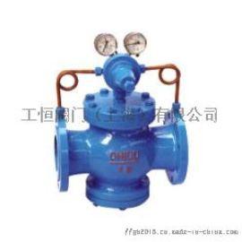 上海工恒牌Y42X-16型煤气减压阀-上海阀门厂