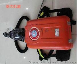 大雁煤矿用HYZ4隔绝式正压氧气呼吸器常规区别