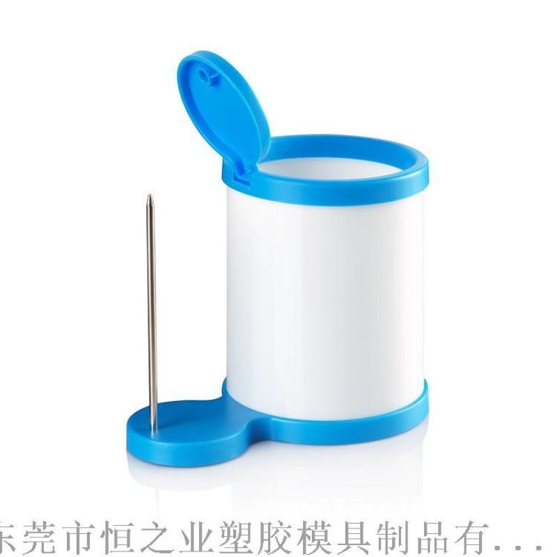 创意型塑料笔筒 牙刷筒塑料外壳加工定制