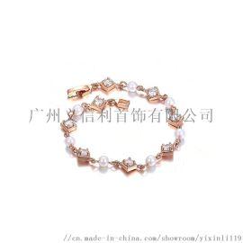 2019新款女士时尚铜手链生产制造