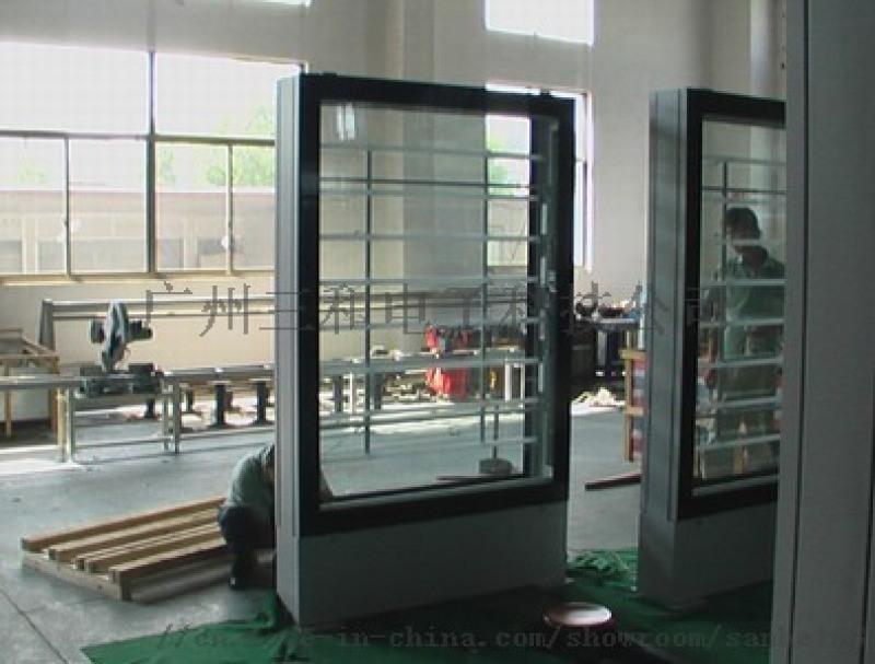 铅合金外壳自动换画灯箱 滚动灯箱铝型材配件