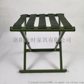 洛阳友时便携折叠凳 绿色马扎老年人外出折叠凳