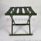 洛陽友時便攜折疊凳軍綠色馬扎老年人外出折疊凳
