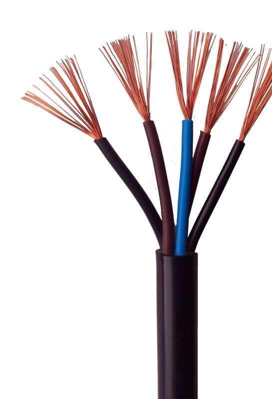 高柔性耐油電纜 低煙無滷控制電纜