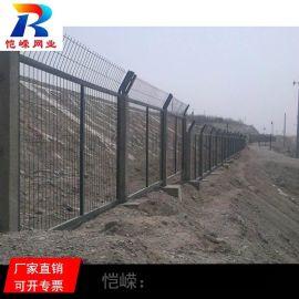 哈尔滨双边丝公路铁路道路防护网 高铁编织隔离防护网