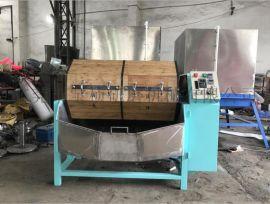 单双层干式木滚桶抛光机(研磨机、抛磨机、光饰机)