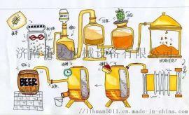 济南定制新型啤酒酿造设备。商用