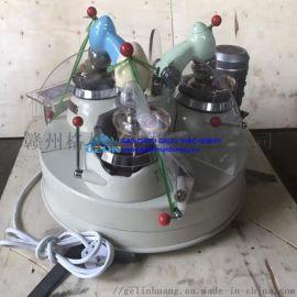 小型研磨机 XPMФ120×3三头玛瑙研磨机