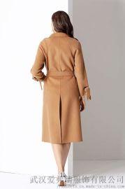 棉麻服装一般多少钱拿货可路莎高端双面羊绒大衣毛呢