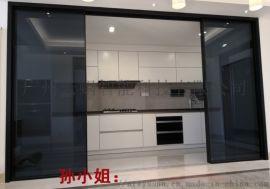 广州云蜗感应玻璃自动门电动感应玻璃平移门专业定制