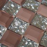 雲南曲靖市特價高質量玻璃5面磨邊鏡馬賽克工程背景牆瓷磚生產廠家直銷