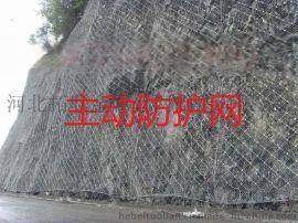 柔性边坡防护网 边坡防护网厂家