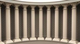 厂家**欧式建筑装饰构件、装饰柱、柱子