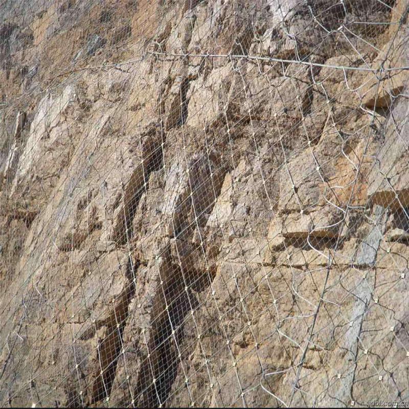 成都主动防护网 边坡网喷防护 拦石网施工方法