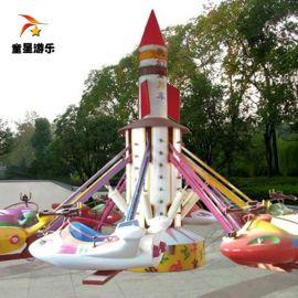 造型独特的中型新型游乐设备自控飞机童星游乐厂家品牌