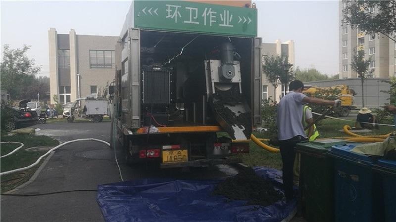 多功能不锈钢吸污净化车 粪污压缩处理吸污车