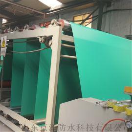 厂家直供2.0mm单面布PVC耐根穿刺防水卷材