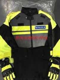 交警骑行服防摔铁骑服网眼厂家直销骑警装备