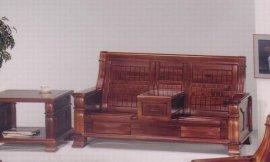 实木布艺沙发(R-308)