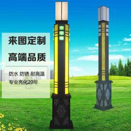 AE照明AE-JGD-01 LED景观灯景观灯厂家定制 户外特色方形LED景观灯柱园林广场美化防水道路灯