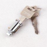 锁芯 5号锌镀铬行李架锁芯 通用各种车型铜钥匙车顶横杆锁