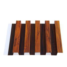 幕墙装饰铝长城凸凹面铝单板厂家木纹波浪形城铝单板