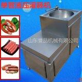 臥室單雙槓可定製自動型灌腸機全自動 四川臘腸專用液壓灌腸機